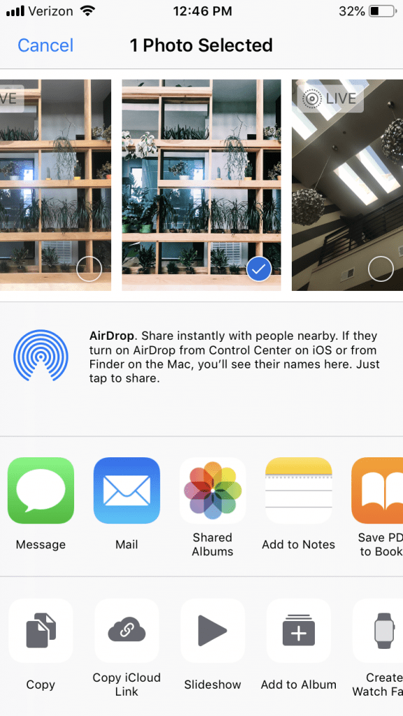 how to airdrop on iphone