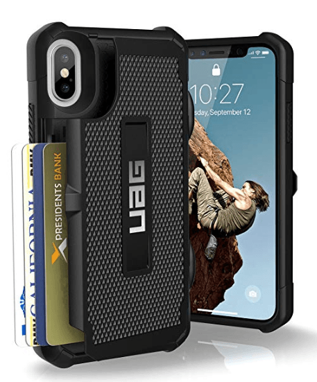 uag trooper series wallet phone case